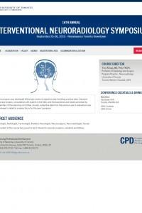 16th Annual Interventional Neuroradiology Symposium